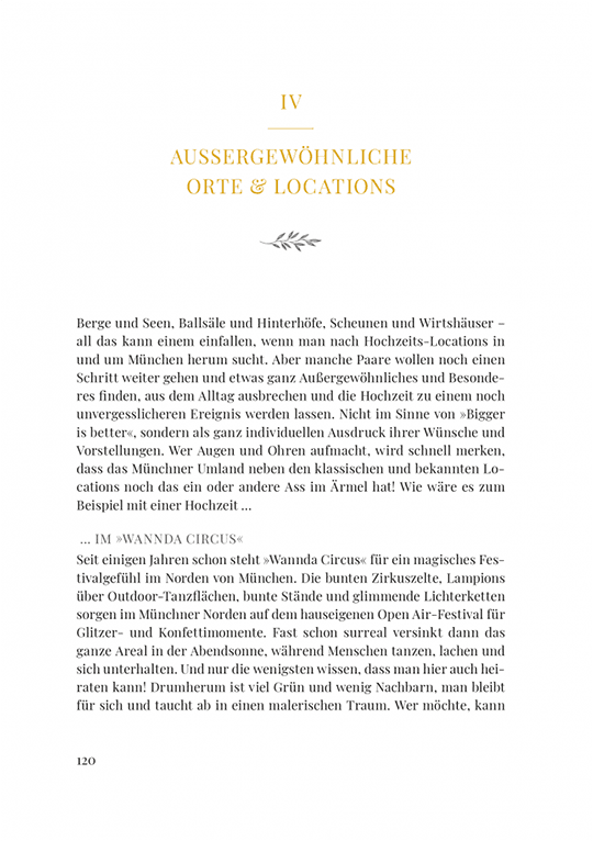 Beispiel einer gesetzten Buchseite